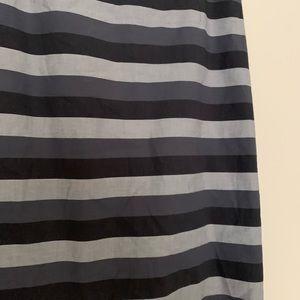 Halogen Skirts - 🌵 Halogen Gray Striped Pencil Skirt Size 6